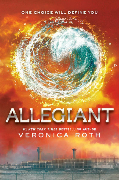 Allegiant cover courtesy of goodreads.com